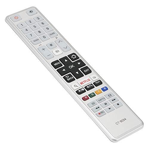 VINABTY CT-8054 - Mando a distancia para Toshiba Smart Full HDTV 24W3663DG 24W3753DG 28W3763DG 32L3763DG 32W3763DG 43L3663DG...