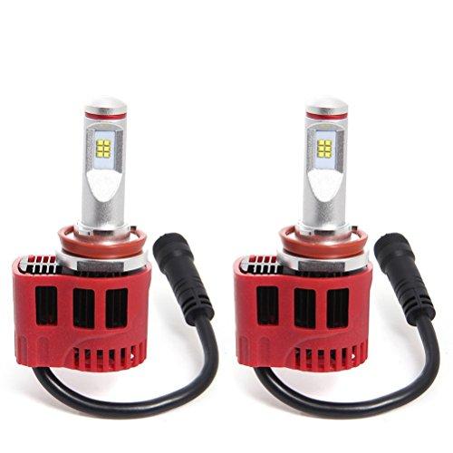WINOMO P6 Puce LED 90W H8 voiture LED projecteur Double puce de Kit lampe Led lampe de tête de bouche à