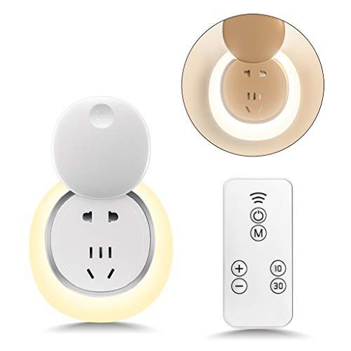 TCM-KE LED Plug in Nachtlicht, mit automatischem Ein/Aus, Dämmerung bis Morgendämmerung, Sensor, Kinderzimmer, Nachtlicht, für Schlafzimmer, Badezimmer, Wohnzimmer, Outdoor