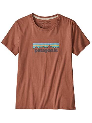 Patagonia W's Pastel P-6 Logo Organic Crew T-Shirt...