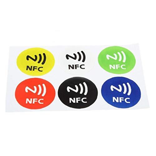 6pcs Nfc Inteligentes Las Etiquetas Engomadas Nfc Inteligentes Etiquetas Engomadas Impermeable Etiqueta Nfc Inteligente Etiquetas Rfid Tag Etiqueta Adhesiva Para Samsung S3 S4