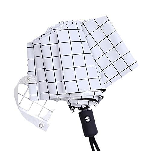 Pattern Pattern Totalmente paraguas automático Los hombres y las mujeres tres barreras...