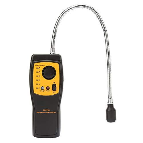 Oumefar Gasdetektor USB-Ladefunktion Halogen-Gasdetektor Tragbarer AS5750 für Industrielabor mit Ladefunktion