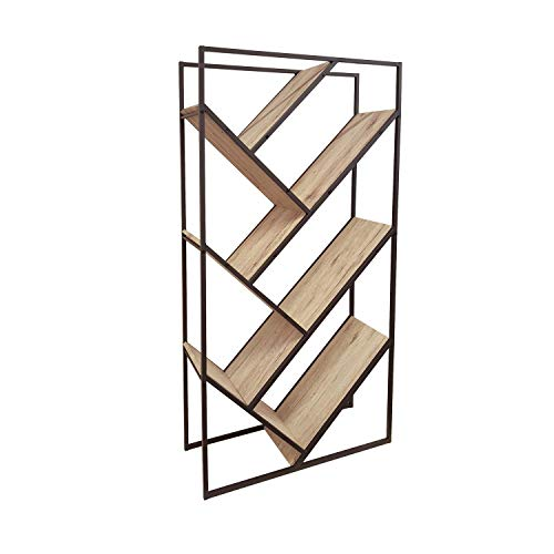 /Étag/ère en bois /à 1 3 biblioth/èque Bois dense h/être unit/é de rangement vitrine Cube 4//étages 2