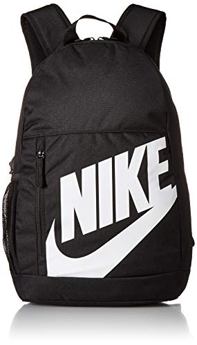 Nike Kinder Y NK ELMNTL BKPK-FA19 Sports Backpack, Black/Black/(White), MISC