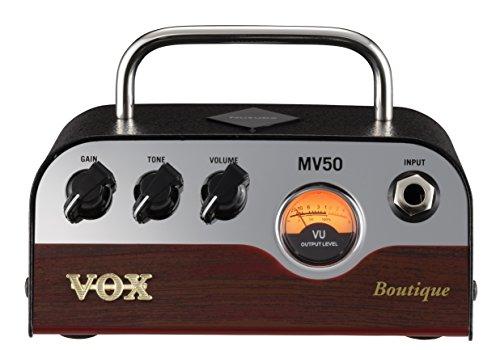 VOX Nutube搭載 ギター用 超小型 ヘッドアンプ MV50 Boutique 驚きの軽量設計 50Wの大出力 アナログ回路 自...