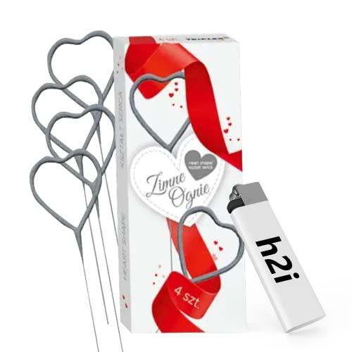 h2i 2-20 Stück h2i Herz Bild
