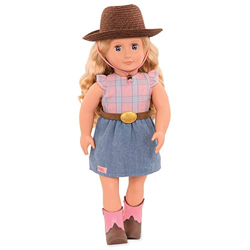 Our Generation - Puppe Lea Rose Cowgirl 46cm, Bunt, BD31211C1Z