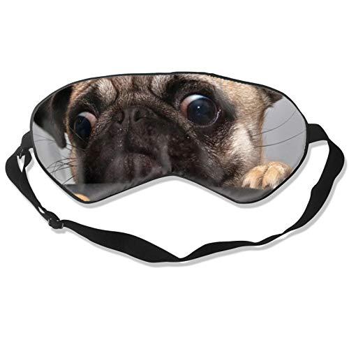 Bonita máscara para dormir para perros con correa ajustable para la cabeza, cubierta suave y duradera para dormir toda la noche, viajes, trabajo por turno, meditación, siesta