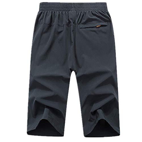 N\P Outdoor Running Shorts Herren Sommer Gym Hose Herren Fitness Shorts Schnell Trocknend Wasserabweisend Kurze Hose Elastische Taille - - 3X