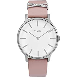 Blush/Pearl White Transcend 38mm Watch