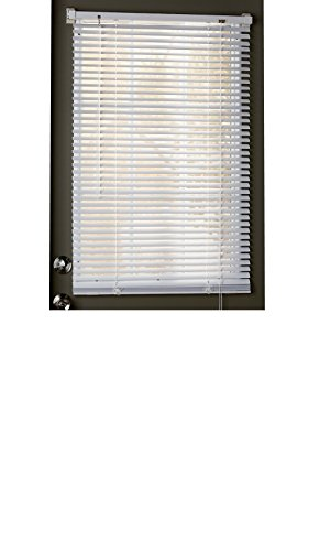 Trenton Gifts Magnetic Window Blinds, Mini Snap-On Blinds, Thin Slats of 1"