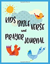 Kids Bible Verse And Prayer Journal: Christian Bible Study Activity Book For Children