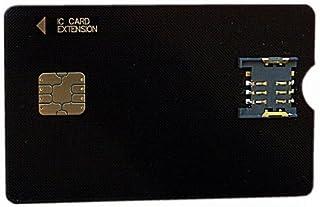 P-busters PB-MC02 : mini B-CAS 変換アダプター 《 mini B-CAS to B-CAS CARD 》 PB-MC02 黒色