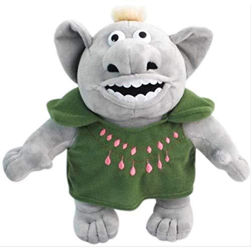 LDDZAU Muñeco de Peluche de Troll congelado, muñeco de acción de Año Nuevo para niños