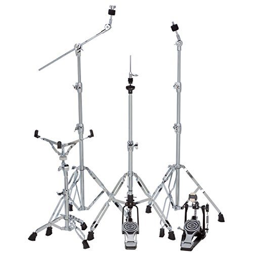 ddrum RXDP RX Serie Double Bass Drum Pedal Hardware-Set -inch chrome