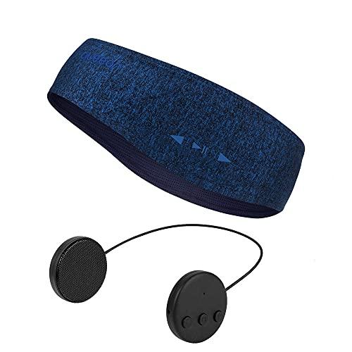 Bluetooth Musik Sport Stirnband Headband mit drahtlosem Kopfhörer 8 Stunden Musikspieler mit Einer Call-Funktion Geeignet für Outdoor-Sportarten