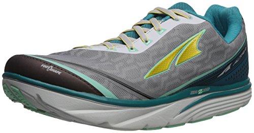 ALTRA Women's Torin IQ Running Shoe, Teal/Gray, 5.5 B US