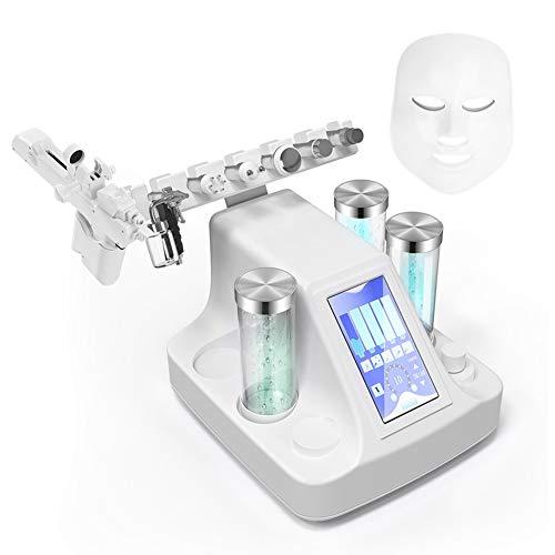 Facial instrumento de belleza, ultrasónico RF eléctrico facial piel corporal exfoliante herramienta,...
