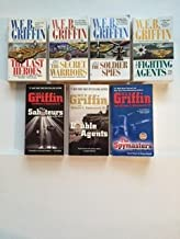 W.E.B. Griffin (Men at War Set of 7) Last Heroes; Secret Warriors; ... Double Agents; Spymasters