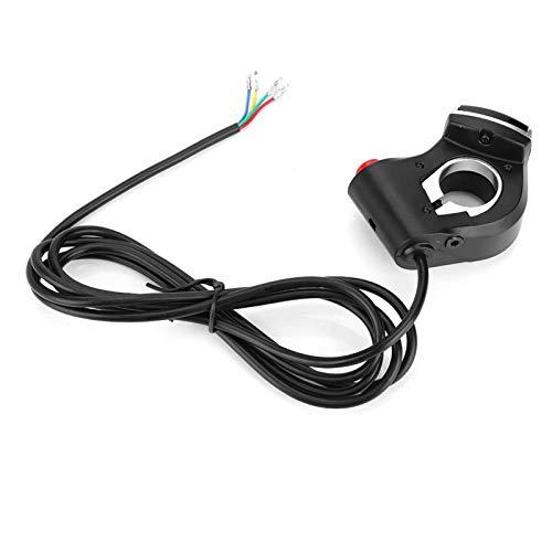 SALUTUYA Interruptor de Bicicleta eléctrica de Cuerno de luz 2 en 1 Ligero para Bicicleta eléctrica para Bicicleta de montaña