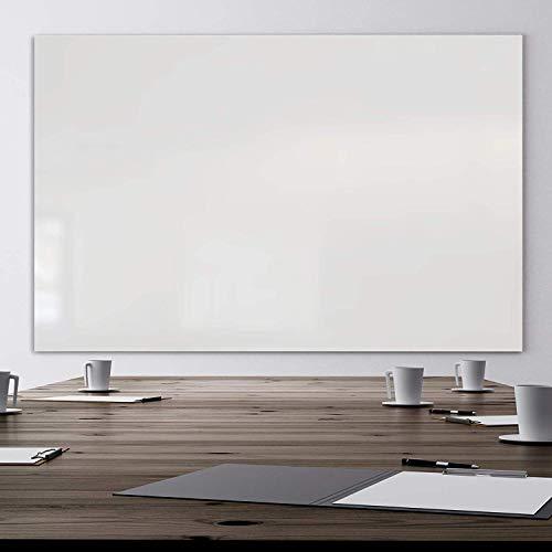 Glas-Whiteboard   Sicherheitsglas   Reinweiß   Rahmenlos   8 Größen (120x180 cm) - 4