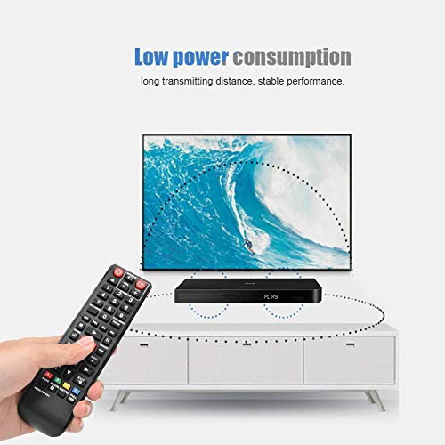 Calvas Universal Remote Control Controller Replacement for Samsung Blu-Ray DVD Player 2019 New Arrival 2019 Best