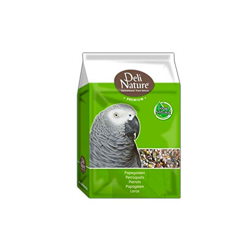 Deli Nature Premium PAPAGEIEN-Futter 3 kg mit Obst Saaten Getreide