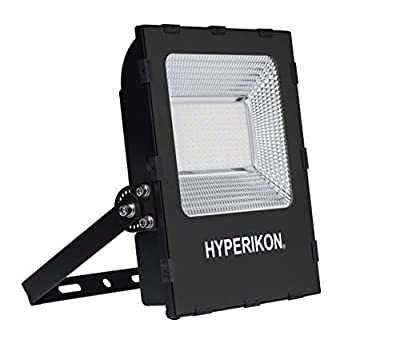 Hyperikon LED Flood Light, 100W (700 Watt HID HPS Replacement), Super Bright Outdoor Lighting, 5000K, IP65 Waterproof, UL, DLC