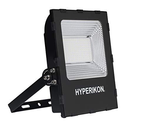 Hyperikon LED Flood Light, 100W (700 Watt HID HPS Replacement), Super Bright Outdoor Lighting, 5000K, IP65 Waterproof, UL, DLC