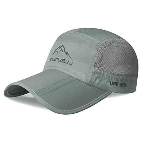 Botack Baseball Cap Baseballkappe Faltbare UV Schutz Schirmmütze Baseballmütze Golf Snapback Cap Damen Herren