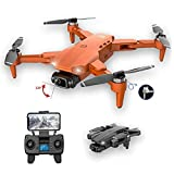 Mini Drone Pieghevole Quadcopter 4K HD Telecamera GPS RC Drone con 1 batteria grigia