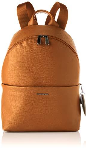 Mandarina Duck Mellow Leather, Mochila para Mujer, Indian Tan, Talla única