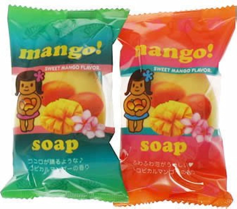 熟したランク放課後フルーツマーケットソープ マンゴー (70g*2個入)