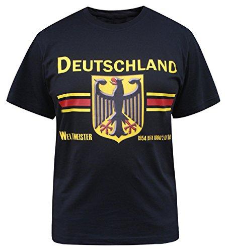 Deutschland Herren Germany Jersey T-Shirts (Größe:6XL)