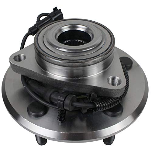 Price comparison product image MACEL 515126 Front Wheel Hub and Bearing Assembly Compatible with 2009-2010 Dodge Ram 1500,  2011 Ram 1500 W / ABS 5-lugs