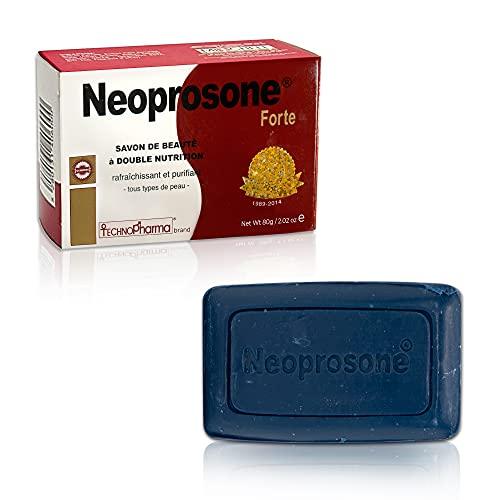 Neoprosone, Skin Brightening Soap | 2.02 oz / 80 g | Hyperpigmentation Treatment, Fade Dark Spots on: Body, Knees, Face, Armpits | with Glycerin