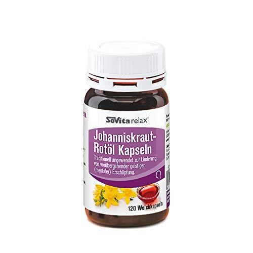Johanniskraut-Rotöl Kapseln