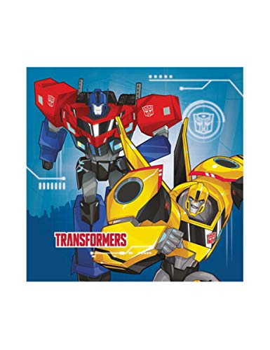 Amscan International 9901304 33 cm Transformers Robots In Disguise Serviette