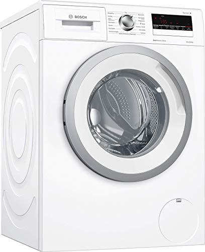 Bosch WAN28140 Serie 4 Waschmaschine Frontlader / A+++ / 137 kWh/Jahr / 1400 UpM / 6 kg / weiß / Nachlegefunktion / ActiveWater Mengenautomatik