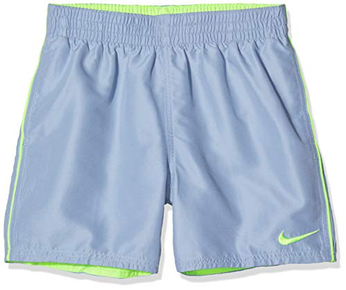 Nike Jungen Solid Lap Volley Short 10,2 cm Lbf4 Ness9654 Badehose S Indigo Nebel