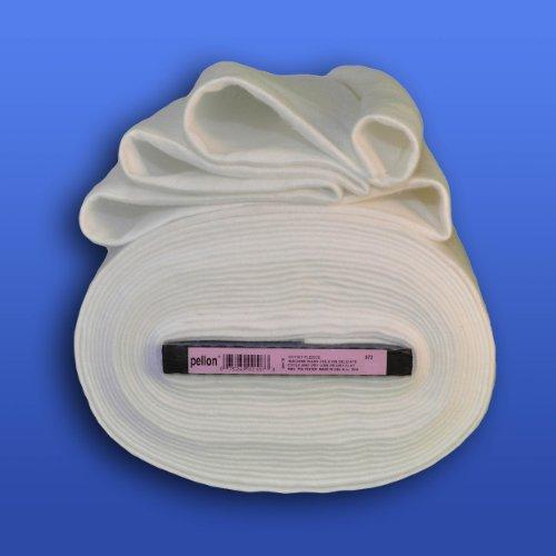Pellon Heavyweight Sew-In Fleece, 45 x 20 Yards, White