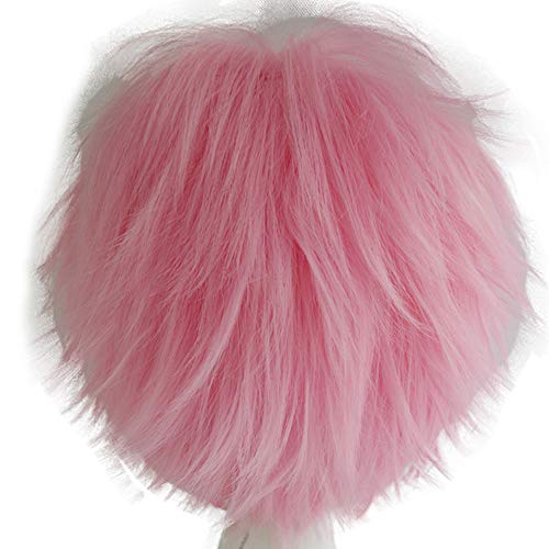 Alacos Short Fashion Spiky Layered Anime Cosplay Wig Halloween...