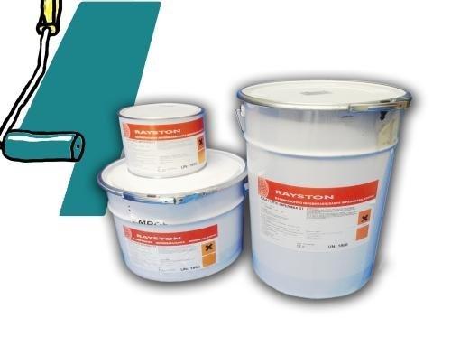 Impermax flüssige Teichfolie azurgrün (RAL 5018) 2,5kg -25 kg, Inhalt:2.5 kg