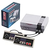 Classic Mini NES Retro Game Console, AV Output Game Console Built-in 620 Games with 2 Classic Controllers AV Output Video Games for for Kids,Children Gift,Birthday Choice for Children and Adults