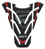 Motocicleta Gas Pantalla/Depósito de Combustible de Goma Tankpad Pantalla adhesivo parar D.ucati Monster 821 v2
