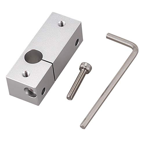 Gaoominy 3D Printer Extruder All Metal Hotend Mk10 Nozzle Heating Block for Wanhao I3 Plus