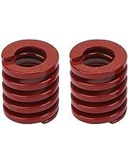 Ginyia Muelle de Troquel, 2 Piezas OD 30 mm ID 15 mm Molde de Carga Media Molde de compresión de Estampado de muelles (Rojo)(TM30*70mm)