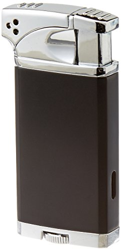 Visol Coppia All-in-One Cigar and Pipe Lighter, Black Matte