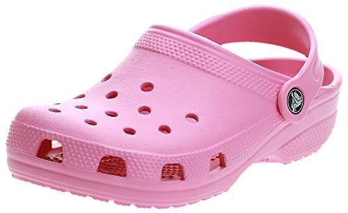 Crocs Classic Clog K, Zuecos Unisex Niños, Pink Lemonade, 24/25 EU
